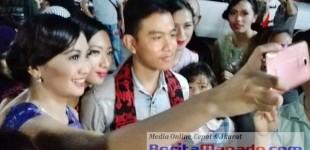 Markobar Manado: Rebutan Selfie Bersama Gibran Rakabuming Raka Putra Jokowi