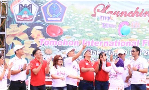 Diawali Parade di Jalan Sudirman, Pemkot Tomohon Launching TIFF 2016
