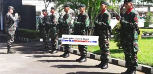 Komandan Militer Filipina Kunjungi Korem 131/Santiago
