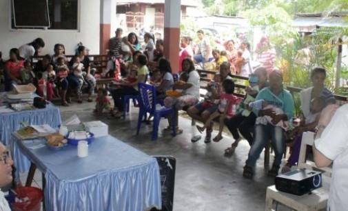 BNN Kampanyekan Bahaya Narkoba di Puskesmas Bitung Barat