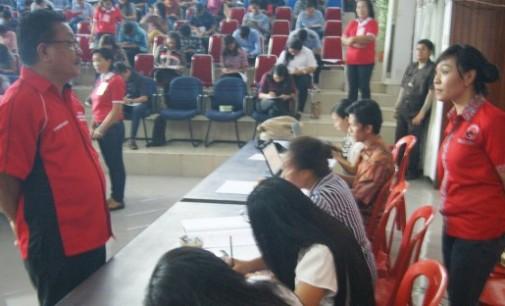 PDIP Bitung Siapkan Ratusan Siswa Hadapi SBMPTN