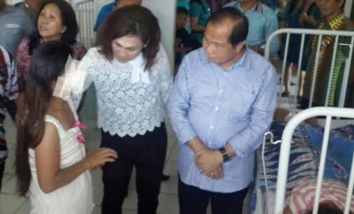 Walikota Jenguk Anak Korban Kekerasan Seksual di RSUD