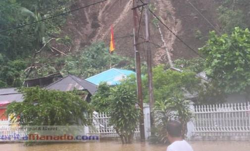Banjir di Sangihe, OLLY DONDOKAMBEY Minta Warga Waspada