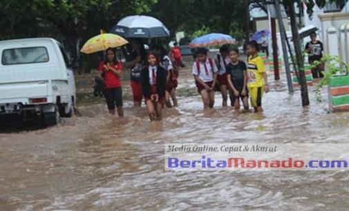 Banjir Sangihe, 50 Unit Rumah Rusak 4 Warga Hilang