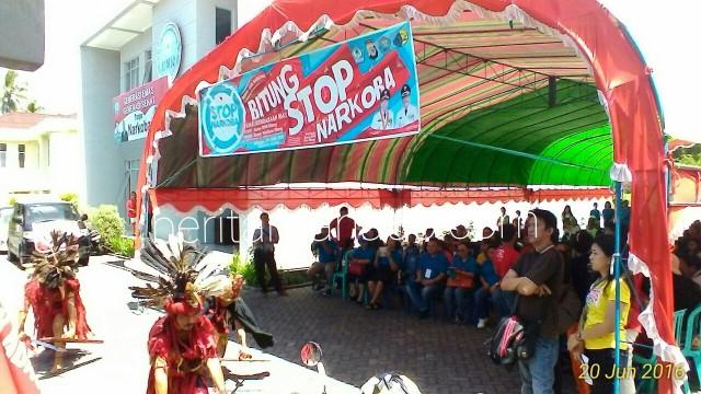 Deklarasi stop narkoba BNN Kota Bitung