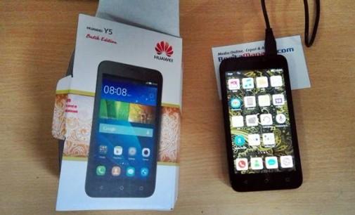 Huawei Y5, Smartphone Android dibawah 1 Juta dengan RAM 1GB