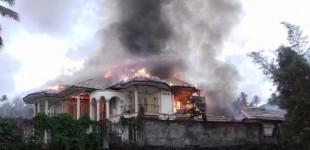 Rumah Terbakar, Danny Sondakh Rugi Rp1,5 Miliar