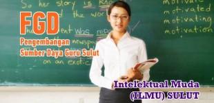 Intelektual Muda Sulut Gelar FGD Pengembangan Sumber Daya Guru