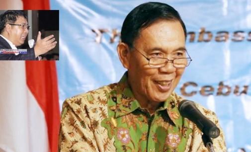 Bupati JAMES SUMENDAP Terima Penghargaan Dubes RI Untuk Filipina
