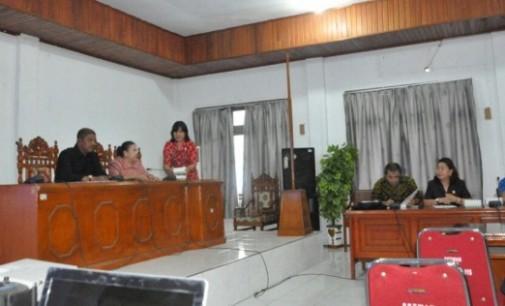 DPRD Lanjutkan Bahas Perubahan RTRW Bitung