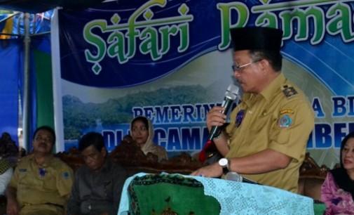 Wawali Pimpin Safari Ramadhan di Pintu Kota