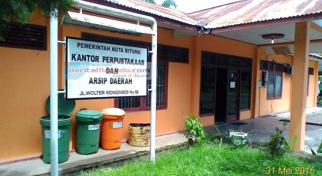 Kantor Perpustakaan dan Arsip Daerah Pemkot Bitung