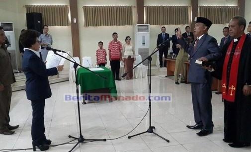 DPRD Manado Gelar Paripurna Pelantikan JONAS RONNY MAKAWATA
