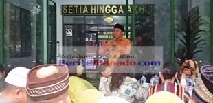 Bukber Kodim 1309/Manado, Kesabaran Dan Ikhtiar Jadi Pesan Tubagus
