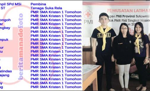 Ini Nama-nama Kontingen PMI Kota Tomohon di Jumbara Nasional 2016