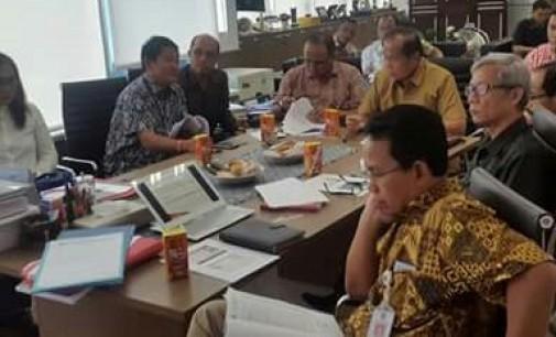Walikota dan Ketua PMI Loby Bantuan Bencana di BNPB