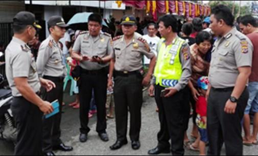 Ratusan Personel Polres Tomohon Amankan Pilhut 15 Desa