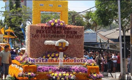Negara Sahabat dan Kementerian Ikut Tournament of Flower