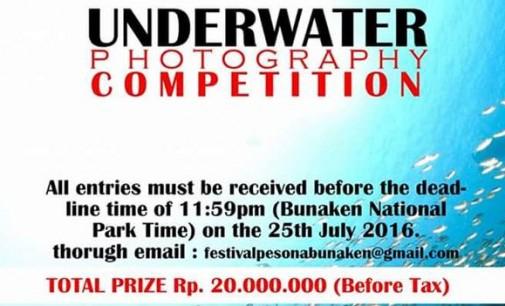 Buruan !!! Underwater Photo Competition FPB 2016 Tinggal Dua Hari Lagi