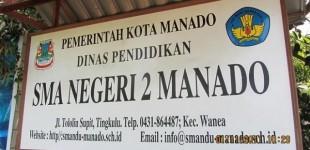 Soal Dugaan Pungli, Ini Pengakuan Kepsek SMAN 2 Manado