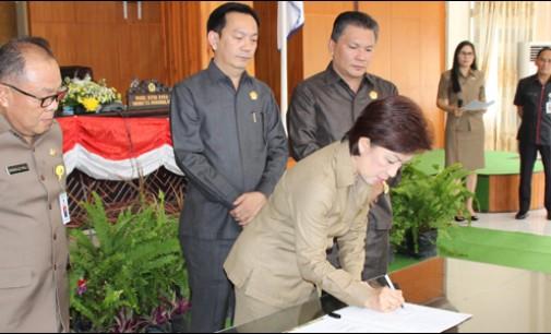 DPRD Tomohon Gelar Buka Tutup Masa Persidangan