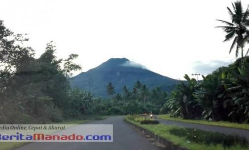 BERITA FOTO: Wow !!! Indahnya Gunung KLABAT di Pagi Hari