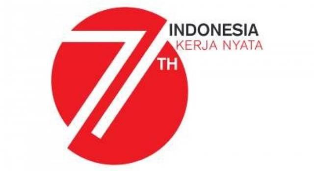 Logo Peringatan HUT RI ke-71