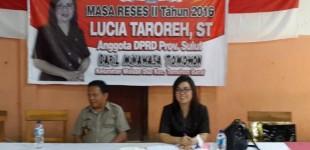 Reses LUCIA TAROREH: Masyarakat Minahasa-Tomohon Berharap Ini
