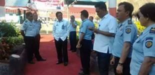 Kunjungi Rutan Amurang, SUDIRMAN HURI Motivasi Pegawai