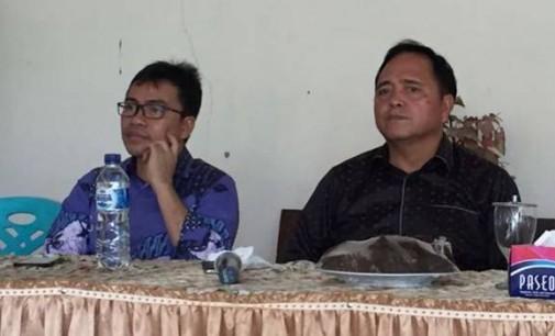 STEFANUS LIOW dan EDDYSON MASENGI Pimpin Rapat HUT PKB GMIM