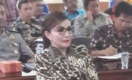 TETTY PARUNTU Hadiri Teleconference di Mapolda Sulut