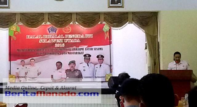 Halal Bihalal Pengda PPI Sulawesi Utara