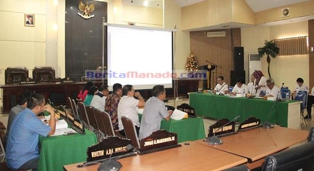Pansus RPJMD melakukan pembahasan bersama BAPPEDA Pemkot Manado