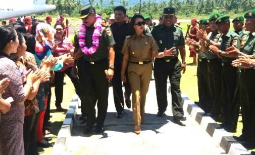 Kabupaten Talaud Segera Cetak Sawah, Kodim Talaud Siap Dibangun