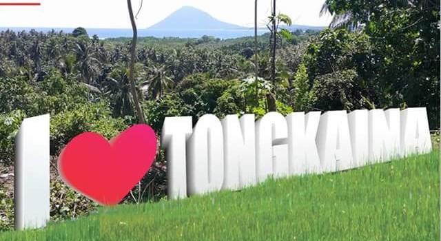 Design Tongkaina Sign oleh pemerintah kelurahan Tongkaina