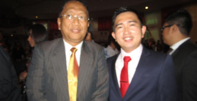 Anggota DPRD Rocky Wowor dan Calon Sekprov Sulut Edwin Silangen