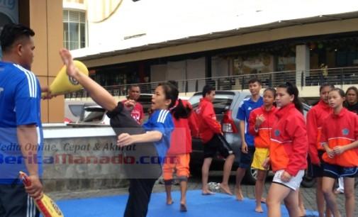 Mantap !!! Dua Atlet Taekwondo Sulawesi Utara Targetkan Bawa Pulang Medali Emas