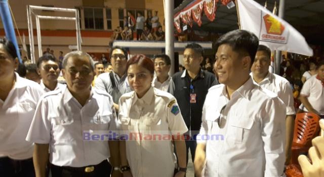 Bupati Minut VAP dan Bupati Minahasa JWS, berkomitmen mengembangkan prestasi atlet Sulut.
