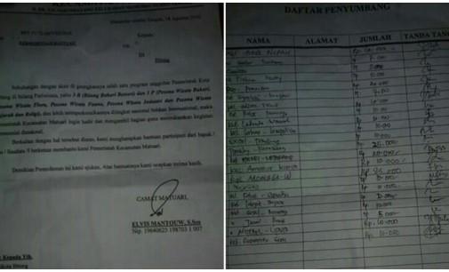 Sukseskan FPSL, Warga Matuari Dimintai Partisipasi Sukarela