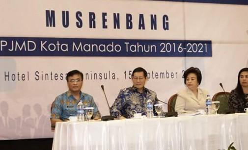Penting !!! Janji Politik Wajib Diakomodir Musrenbang RPJMD Kota Manado 2016-2021