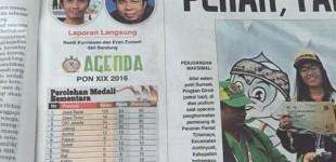 Warga Sulut Ini Raih Medali PON Jabar Untuk Sumatera Selatan