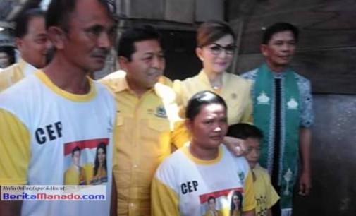 Setya Novanto Gelar Program Bantuan Bedah Rumah Partai GOLKAR di Minsel