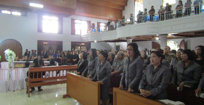 Dihadiri ratusan jemaat