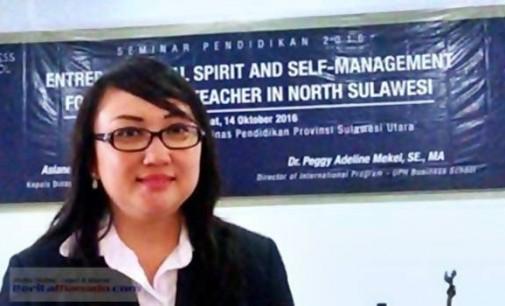 Wow !!! Jadi DIP UPH Bussiness School, Peggy Mekel Bagikan Entrepreneurial Spirit Buat Para Guru