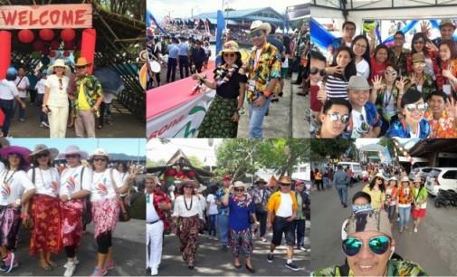Kunjungi Pembukaan FPSL Serasa di Hawai dan China