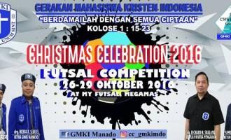 Wuih !!! 32 Tim Futsal Se-Sulut Perebutkan Piala GMKI