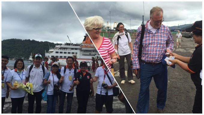 Kapal pesiar Henseatic tiba di Pelabuhan Samudera Kota Bitung