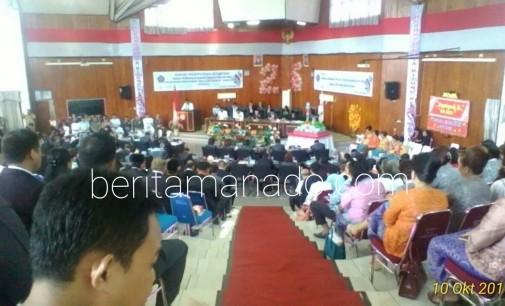 Gubernur Hanya Utus Perwakilan di HUT Kota Bitung ke-26