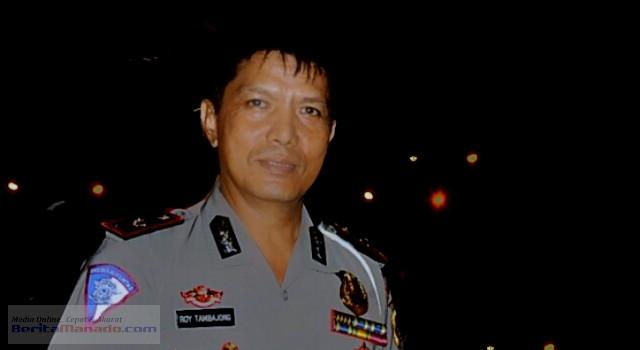 Kasat Lantas Polresta Manado Kompol Roy Tambajong