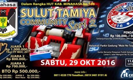 Keren !!! Rayakan HUT Kabupaten Ini, Sulut Tamiya Community Siap Balapan